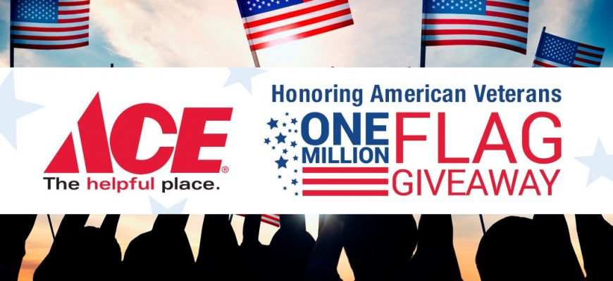 free american flags in watsonville, gilroy, freedom, marina, salinas, memorial day, central coast ace