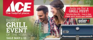 Ace Hardware grill event, best prices on grills watsonville, freedom, central coast