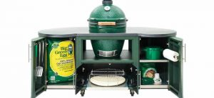 Big Green Egg grill and cooking island, central coast ace, best prices in watsonville