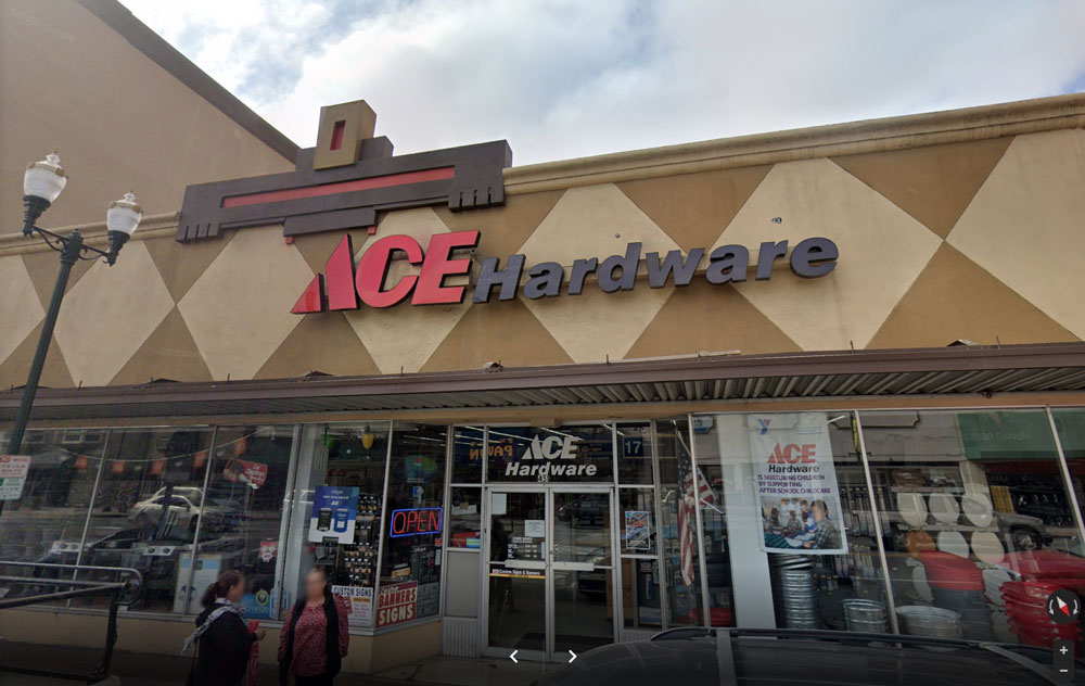 Central Coast Ace Hardware Watsonville location