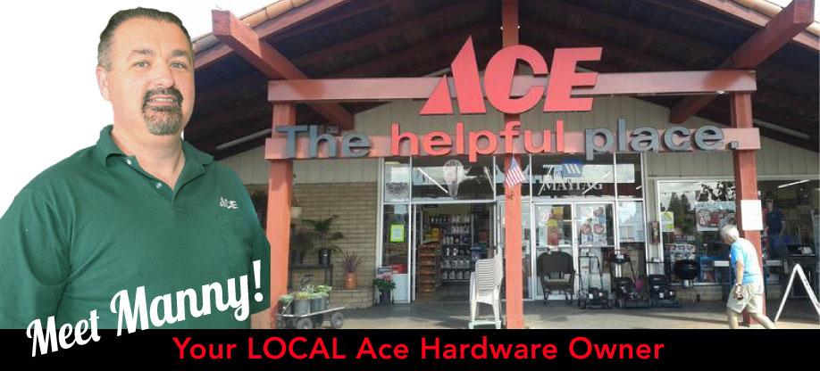 Manuel Rodrigues, Central Coast Ace Hardware owner