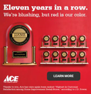 Ace Hardware wins multiple JD Power Awards