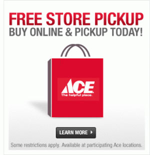 Central Coast Ace Hardware free store pickup