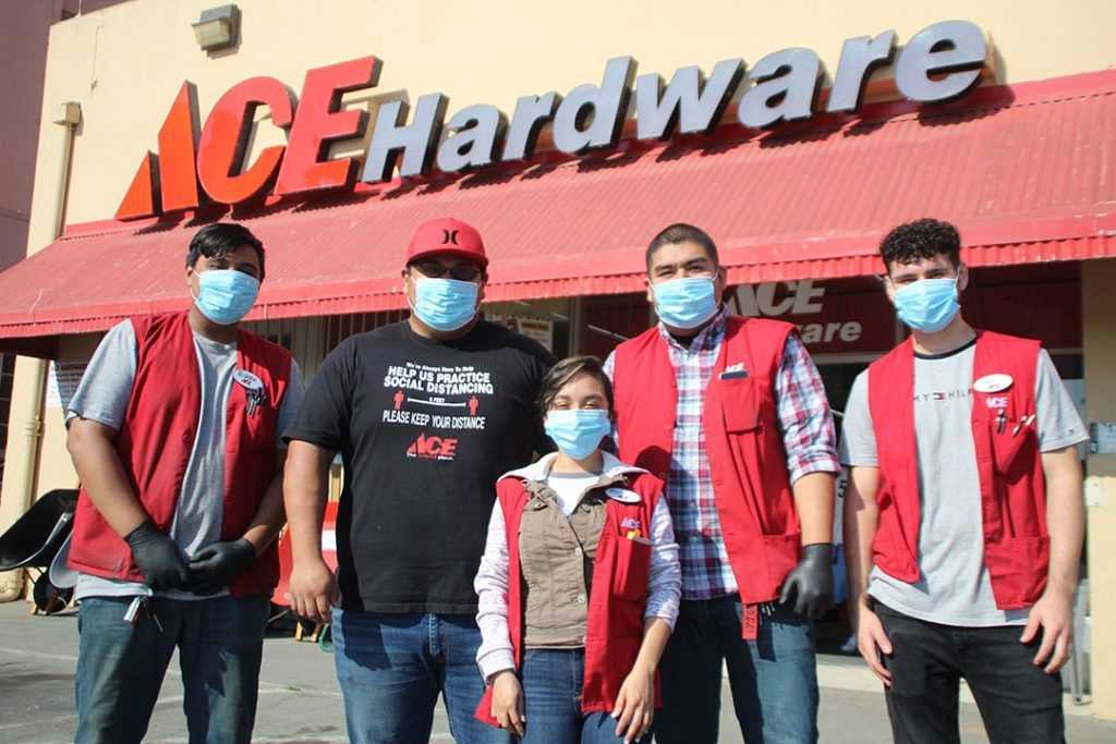 Central Coast Ace Hardware Main Street Watsonville location staff