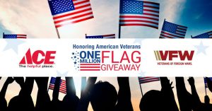 free american flags, memorial day flag give away, honoring fallen heroes, watsonville, marina, freedom, salinas, gilroy, central coast ace