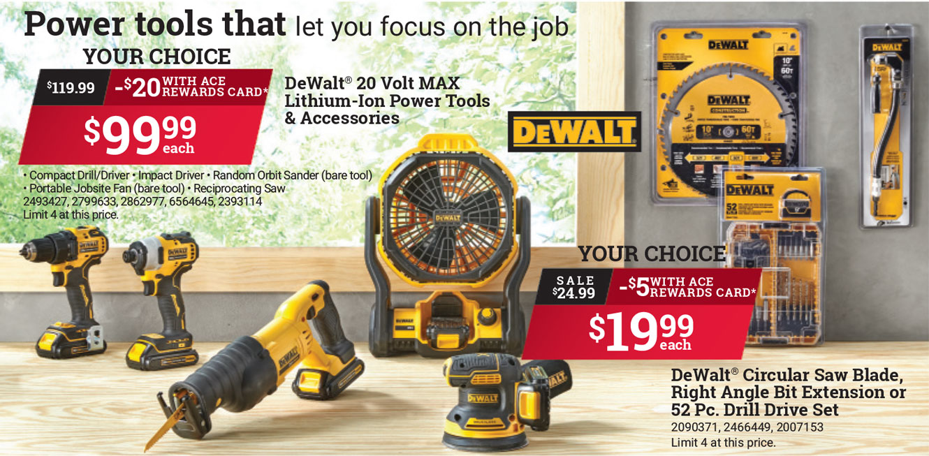 dewalt power tools in watsonville, gilroy, freedom, battery powered tools, cordless, drills