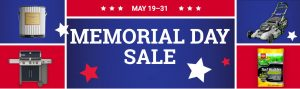 sales on tools, grills, paint, memorial day sale, central coast ace hardware, watsonville, gilroy, marina, salinas
