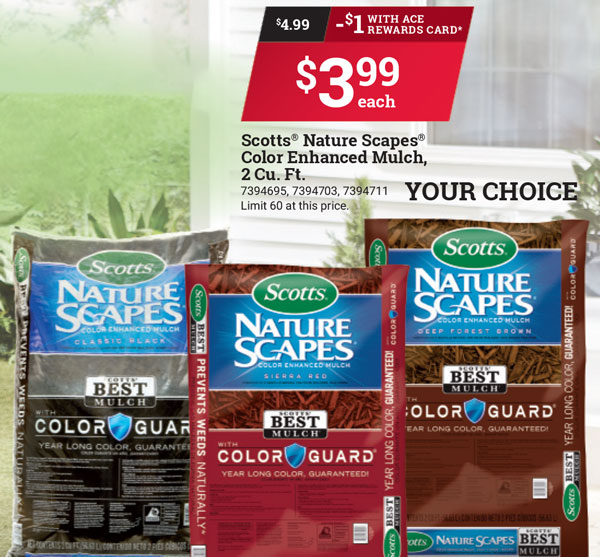 scotts nature scapes, best prices on mulch in watsonville marina freedom gilroy salinas, ace hardware, lawn products, best mulch