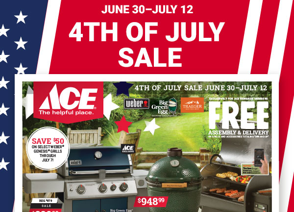 shop 4th of july sales watsonville gilroy marina salinas freedom, near aptos central coast ace hardware, independence day