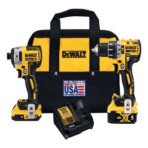hammer drill, impact driver, cordless brushless, dewalt tools in gilroy, central coast ace