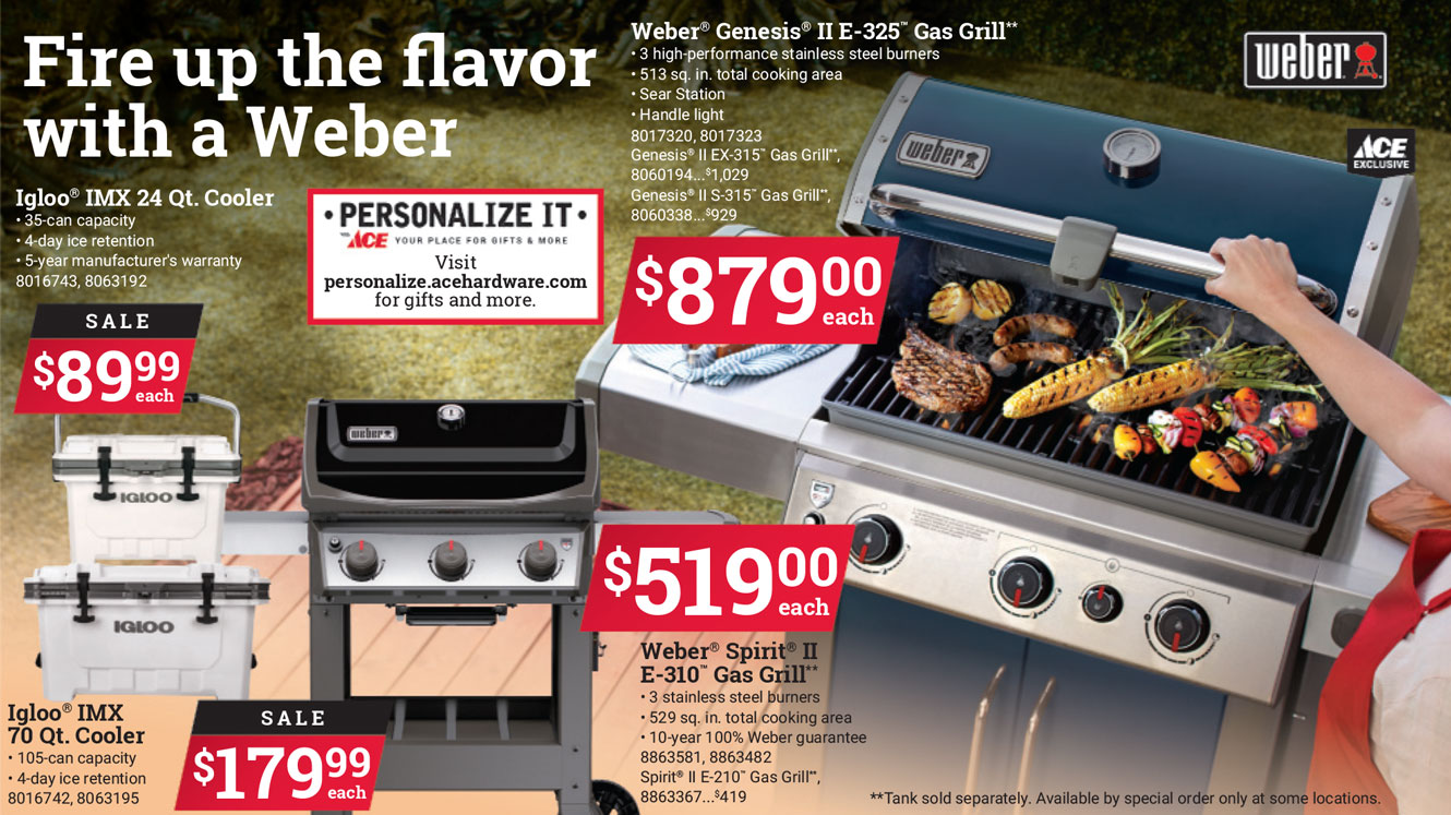 weber grills for sale labor day ace hardware best prices watsonville freedom gilroy marina salinas